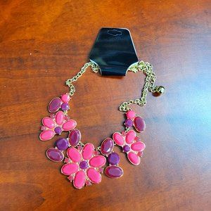 Kate Spade Floral Charm Necklace